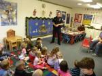 Preschoolers Get a Special Visitor